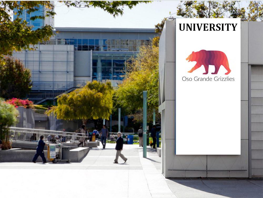 Logo Universitatea Oso Grande Grizzlies